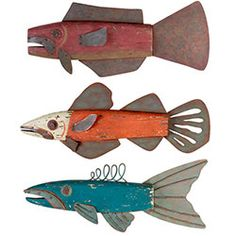 Jerry Eppel Folk Art Fish are some of my favorite creatures to hang around my house. Folk Art Fish, Fish Art, Fish Fish, Metal Fish, Wooden Fish, Assemblage Kunst, Driftwood Fish, Fish Sculpture, Found Object Art