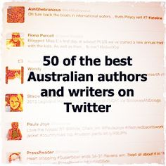 50 of the best Australian authors and writers on Twitter | Allison Tait