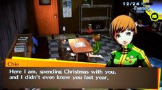 Persona 4 Golden - Christmas Eve with Chie (Voiced)
