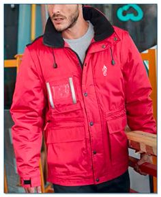 SeaHorse-Collection, workwear parka with detachable sleeves, 109,99€