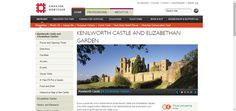 Kenilworth Castle and Elizabethan Garden | English Heritage