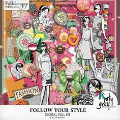 """Follow Your Style """"Full Kit"""" by Paty Greif"""