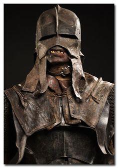 Orc helm headgear - Uruk-hai - Tolkien - Lotr -  LARP inspiration -AWESOME