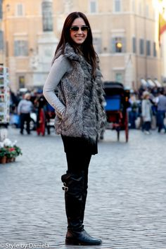 Street Fashion & Street Style – City Chic In Rome « Stylish Summer Outfits, Comfortable Outfits, Fall Outfits, Fashion Outfits, Fashion Tips, Fashion Ideas, Classy Fashion, Fashion Black, Fashion Styles