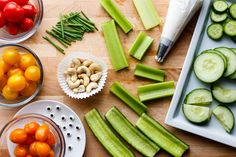 Vegtable Snacks, Veggie Snacks, Veggie Recipes, Appetizer Recipes, Healthy Snacks, Healthy Eating, Cooking Recipes, Healthy Recipes, Fruit Snacks