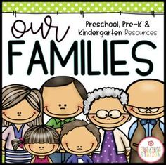 FOR PRE-K AND This resources includes thematic lessons, activities, poems, songs and centers for your little learners. Buy the BUNDLE and SAVE! You can purchase this resources in the Thematic Activities for Kindergarten Family Unit, Preschool Family Theme, Kindergarten Social Studies, Kindergarten Projects, Kindergarten Lesson Plans, Journeys Kindergarten, Daycare Curriculum, Kindergarten Readiness, Homeschooling Resources
