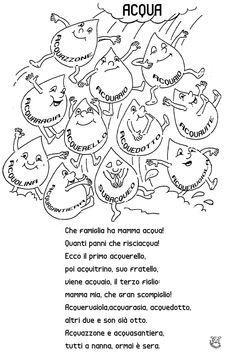 Graziano Furchi''s media content and analytics Italian Grammar, Italian Vocabulary, Italian Words, Italian Language, Primary School, Elementary Schools, Word Seach, I Love School, Learning Italian