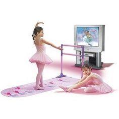 Bella Dancerella Home Ballet Studio with DVD, a favorite around here:)