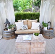 decorating small apartment patio - Google Search