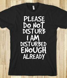 Disturb T-Shirt from Glamfoxx Shirts