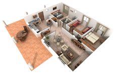planos de casas en 3d - Buscar con Google