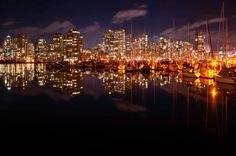 Night reflection by Maziar Hooshmand on 500px