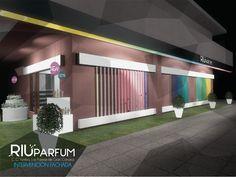 Ideas de #Tienda, estilo #Moderno color  #Marron,  #Blanco,  #Gris,  #Negro, diseñado por TRES arch