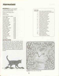 Kitty Coasters 8/16