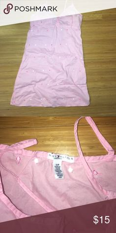 5/$20  LAST CALL! Tommy Hilfiger pink night top Super cute and light cotton; excellent condition! Tommy Hilfiger Tops Tank Tops
