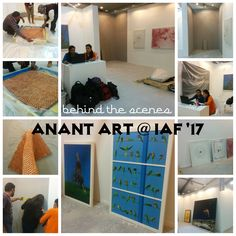 #Anantart #Anantartatiaf #IAF2017 Check out what went on during the installation process at Anant Art's booth ....