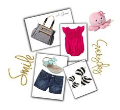 """""""Untitled #44"""" by aromance101 ❤ liked on Polyvore featuring Old Navy, Gund, Skip Hop and WALL"""