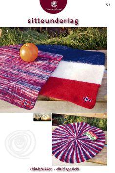 Kit 61 - Tova Sitteunderlag Picnic Blanket, Outdoor Blanket, Wool Felt, Felted Wool, Rug Making, Weaving, Kids Rugs, Knitting, Crochet