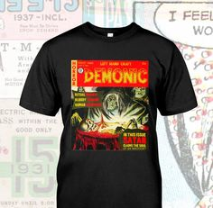 A personal favorite from my Etsy shop https://www.etsy.com/listing/552493192/demonic-satanic-comic-book-cover-from