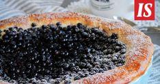 Janne Kujala leipoi mustikkapiirakan ihanaan pullataikinapohjaan. Acai Bowl, Baking, Fruit, Breakfast, Food, Acai Berry Bowl, Morning Coffee, Bakken, Eten