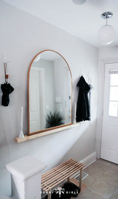 17 Best Mirrors For Above Bar Images Window Mirror Console Round