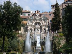 Villa d'Este - The Fountain of the Organ