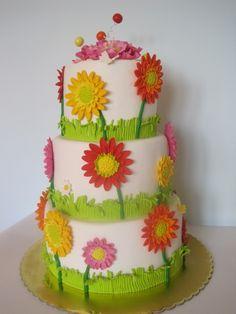 pretty flower cake | pretty flower cake