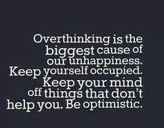 Inspirational thinking.