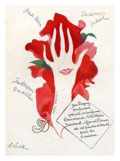 AP292 - Jean Desperez, Vintage Cosmetics (30x40cm Art Print)