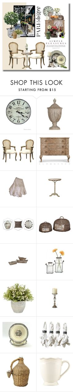 """""""Paris Bistro - Vintage Inspired"""" by ollie-and-me ❤ liked on Polyvore featuring interior, interiors, interior design, home, home decor, interior decorating, Oskar the Label, Jayson Home, Home Decorators Collection and Frontgate"""