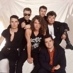 INXS, led by Michael Hutchence, was one of the biggest rock bands in the world in the late and early the band is pictured here at the Miami Arena in Florida in March 1988 Michael Hutchence, Baby Live, We Will Rock You, 80s Music, My Favorite Music, Favorite Things, Music Is Life, Cool Bands, Classic Rock