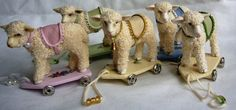 Five+little+lambs+ready+for+new+homes+by+Abasketof+on+Etsy,+£20.00