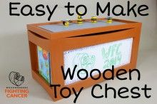 A step by step guide on how to build this great multi-function toy chest.