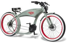 The Ruffian – erstes Chopper eBike mit Bosch-Antrieb - Pedelecs und E-Bikes Cruiser Bicycle, Motorized Bicycle, Old Bicycle, Baby Bicycle, Bicycle Panniers, Recumbent Bicycle, Bicycle Shop, Bicycle Women, Electric Cargo Bike