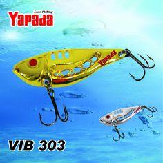 YAPADA VIB 303  Space 6pcs/lot Metal VIB Fishing Lures