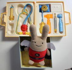 Doudou Ange lapin de la marque Trousselier,  j'ai eu le coup de coeur pour ce super doudou, disponible sur le site DécoBB.
