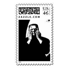 Frankenstein Halloween Stamps