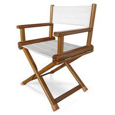 Boat director's chair / folding / wooden OVAL Valdenassi
