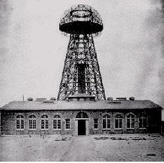 Tesla's power station that sadly, never reached fruition...