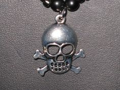 Red Skull Necklace by BerrysBaubles on Etsy, $25.00