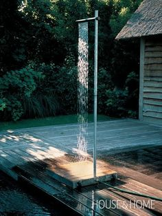 Outdoor Shower for Pool