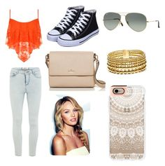 Day at the mall by ryleesand on Polyvore featuring polyvore, fashion, style, WearAll, Vero Moda, Kate Spade, Paula Mendoza, Casetify and Ray-Ban