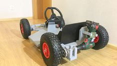 Picture of Drill Powered Go Kart