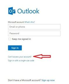 Forgot Password ? Step by Step Guide on Recover Lost Hotmail Password