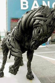 Creative use for old tires