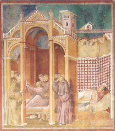 Vida de San Francisco, por San Buenaventura y Giotto, 21-24