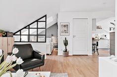 Maravilloso y práctico ático de 38 m² - Blog decoración estilo nórdico - delikatissen