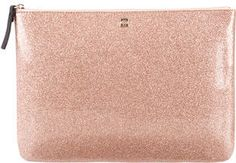 Kate Spade New York Glitter-Embellished Clutch