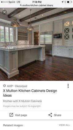 X Mullion Cabinets Design Decor Photos Pictures Ideas