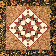 Learn how to make an eight-point star quilt block with this beginner friendly tutorial from Edyta Sitar of Laundry Basket Quilts! Sew along with Edyta as she. Quilting Templates, Quilting Tips, Quilting Tutorials, Machine Quilting, Quilt Patterns, Block Patterns, Star Quilt Blocks, Star Quilts, Cleopatras Fan Quilt